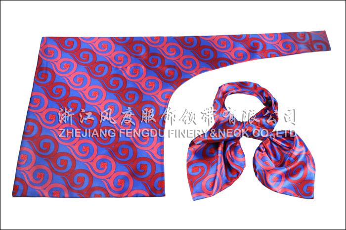 工商银行 必威体育直播平台下载刀型丝巾 规格:63x53x25cm