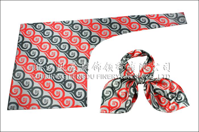 工商银行 仿丝刀型丝巾 规格:63x35x25cm