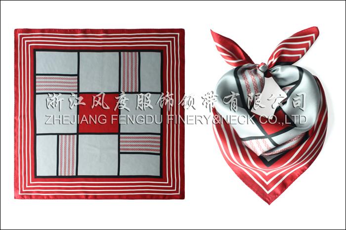 工行 必威体育直播平台下载小方巾 规格:53x53cm