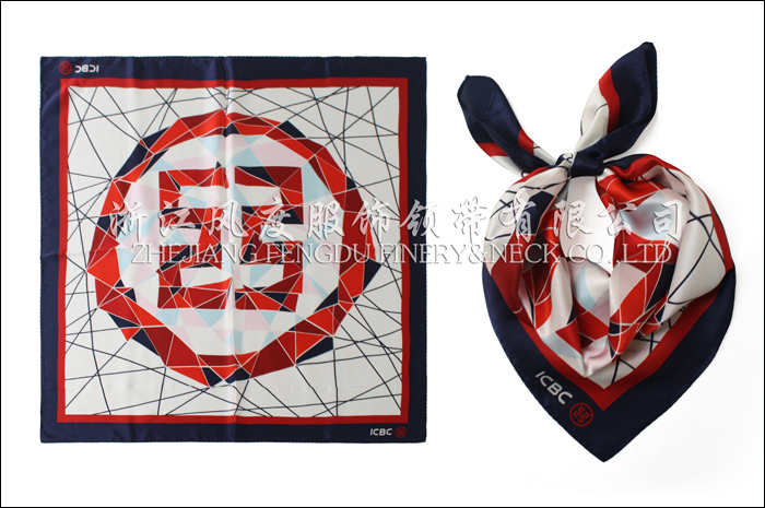 工行 必威体育直播平台下载中方巾 规格:60x60cm