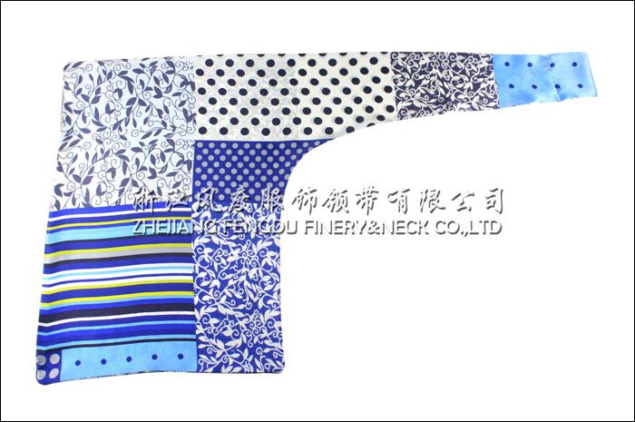 中国建设银行 必威体育直播平台下载双层刀型丝巾