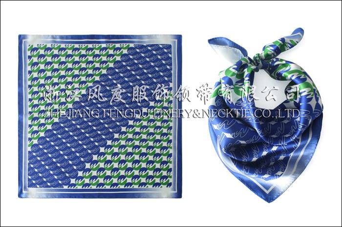农村信用合作联社 必威体育直播平台下载小方巾 规格:53x53cm