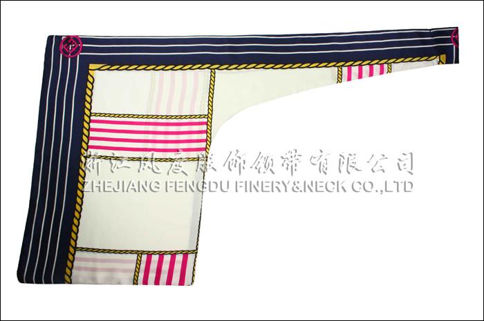 海南农村商业银行 双层刀型丝巾