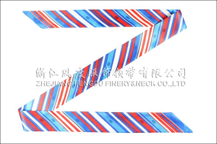 兴业银行 仿丝小长巾 规格:98.5x4cm