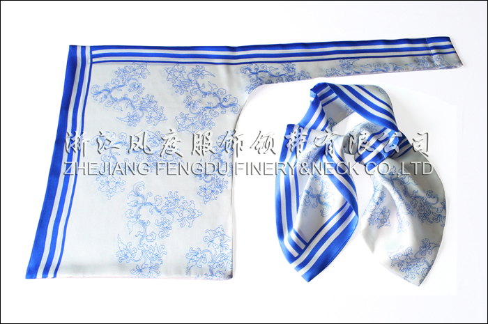 萧山国际机场 必威体育直播平台下载双层刀型丝巾