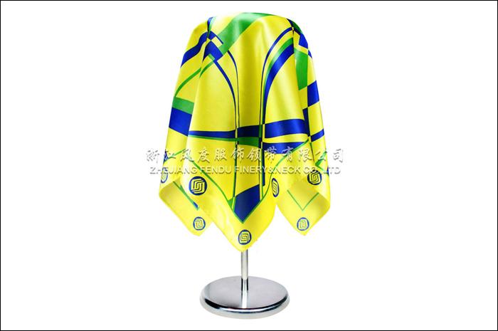 移动 仿丝小方巾 规格:53x53cm