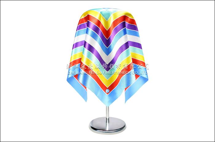 电信 仿丝小方巾 规格:53x53cm