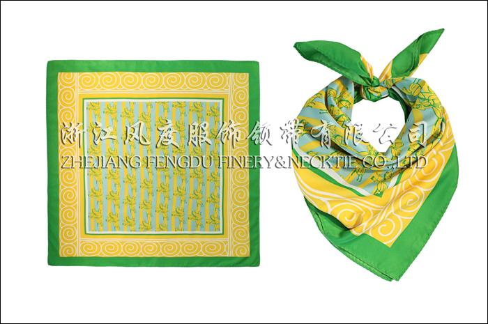 邮政 仿丝中方巾 规格:60x60cm